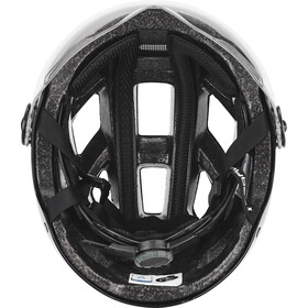 ABUS Hyban+ Helmet black, clear visor